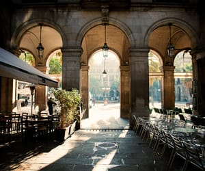 beautiful, cafe, and city image