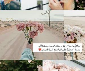كلمات, ًورد, and زهور image