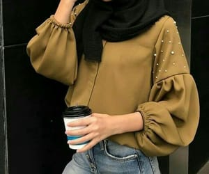 blouse, closet, and olive image