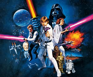 a new hope, background, and star wars image