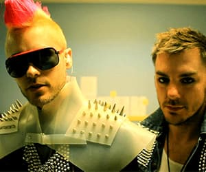 30 seconds to mars, jared leto, and brothers image