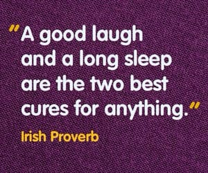 laugh and sleep image