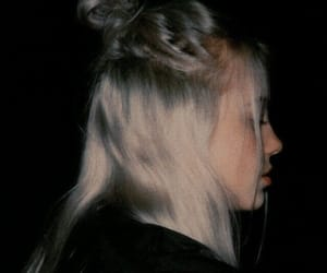 billie eilish, black, and aesthetic image