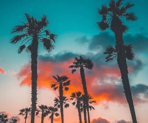 beach, clouds, and colorful image