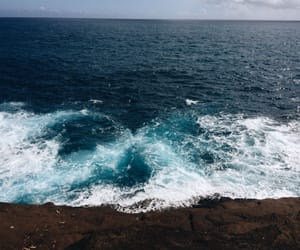 nature, ocean, and sea image