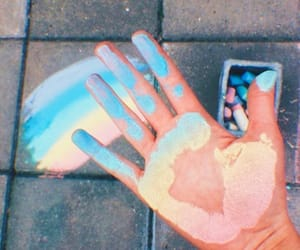 rainbow, aesthetic, and art image