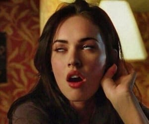 megan fox, mood, and icon image