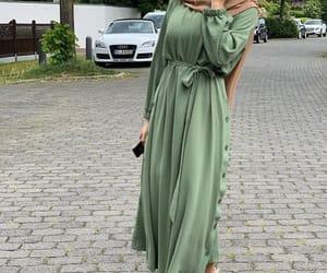 cars, dress, and hijab image