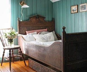 antiques, vintage, and bedroom image