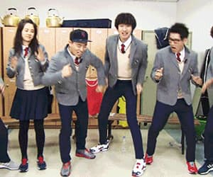 cast, south korea, and running man image