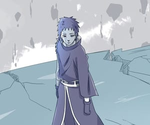 anime, art, and obito uchiha image