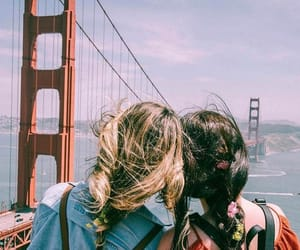 besties and travel image