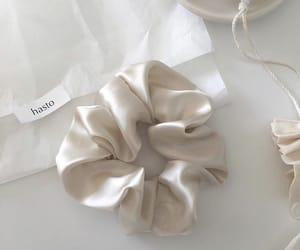 scrunchie and white image