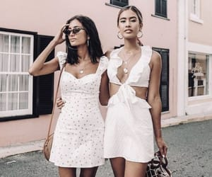 outfit, fashion, and friendship image