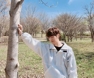behind the scene, wood, and seungmin image