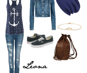 anchor, backpack, and beanie image