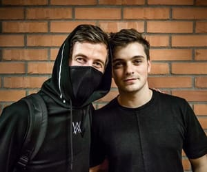 alan walker, music, and martin garrix image