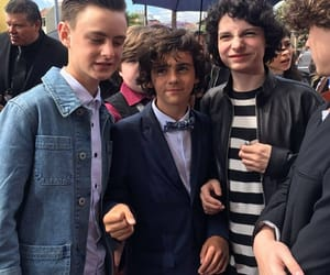 finn wolfhard, jack grazer, and it 2017 image