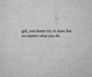 fun, girl, and self-love image