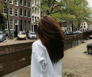 architecture, brunette, and canals image