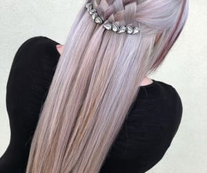 art, cool, and hair image