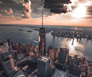city and new york city image