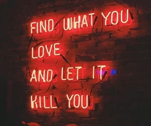 break up, lights, and love quote image
