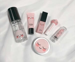 korean and pink image