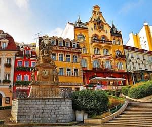 architecture, city, and czech republic image