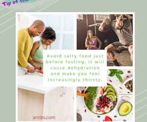 fitness, salty food, and annbs image