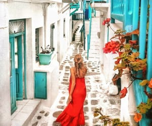 Greece, photography, and mykonos image