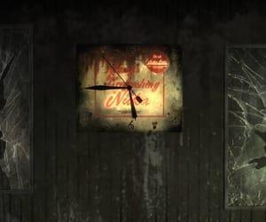 bar, fallout, and clock image