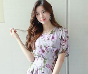 asian fashion, dress, and modest image