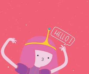 pink, wallpaper, and adventure time image