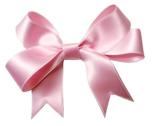 pink, ribbon, and bow image