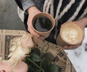 coffee, aesthetic, and drinks image