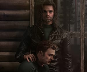 art, Avengers, and captain america image