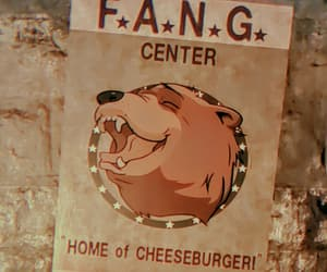 bear, beige, and fang center image