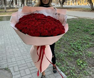 flowers, girls, and luxury image