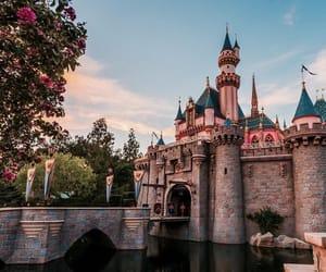 disneyland, disney, and castle image