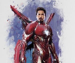 Marvel, tony stark, and Avengers image