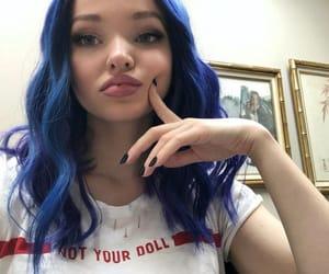 dove cameron, hair, and purple image