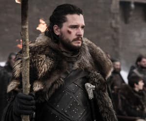 hbo, got, and jon snow image
