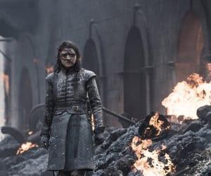 stark, got, and arya stark image