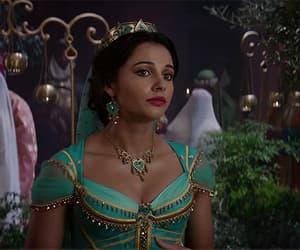 aladdin, princess jasmine, and naomi scott image
