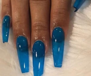 acrylics, blue, and clear image