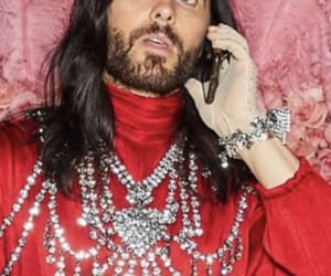 30 seconds to mars, jared leto, and cellphone image