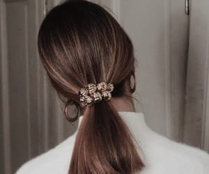 chanel, hair, and coleta image