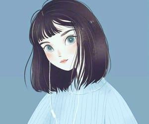 anime and eyes image