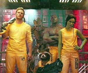 Avengers, gif, and drax image